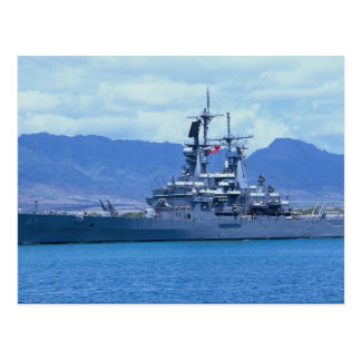 "CGN 41 ""USS Arkansas"", nuclear powered cruiser Postcard"