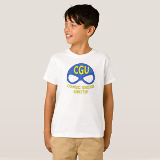 CGU Mask Logo Shirt Kids