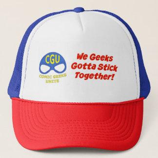 CGU We Geeks Gotta Stick Together! Hat