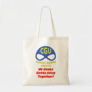CGU We Geeks Gotta Stick Together! Tote Bag