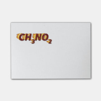 CH3NO2 - Nitro Post-it Notes