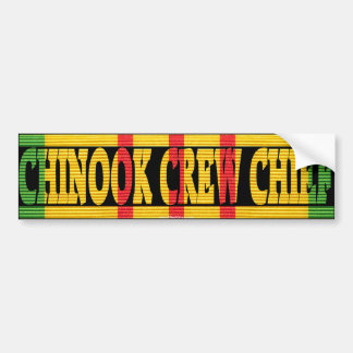CH-47 Chinook Crew Chief VSM Bumper Sticker