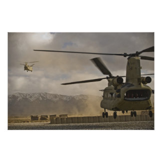CH-47 Chinook Posters