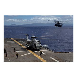 CH-53D A Sea Stallion Posters