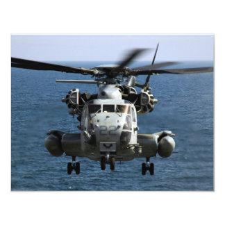 CH-53E 11 CM X 14 CM INVITATION CARD