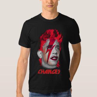 Ch-Ch-Changes - Barack Obama Tee Shirts