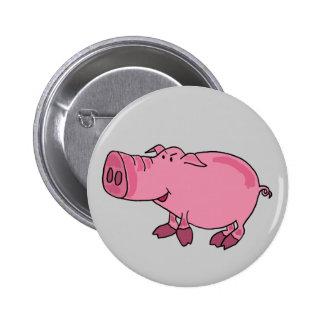 CH- Sassy Pig Button