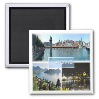 CH * Switzerland - Lucerne Square Magnet