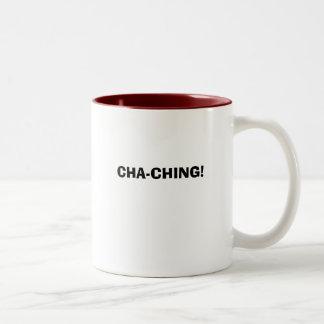 CHA-CHING! Two-Tone COFFEE MUG