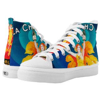 chablis high tops printed shoes