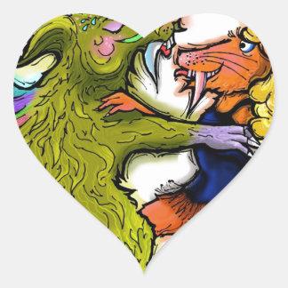Chachacha.jpg Heart Sticker