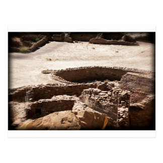 Chaco Canyon New Mexico Postcard