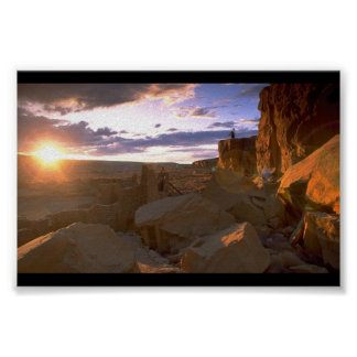 Chaco Canyon Poster