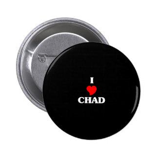 CHAD 6 CM ROUND BADGE