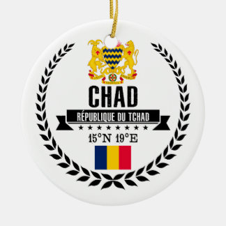 Chad Ceramic Ornament
