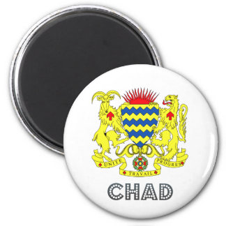 Chad Coat of Arms Magnet