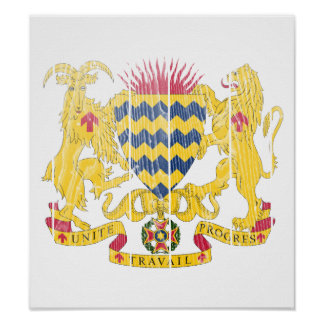 Chad Coat Of Arms Posters