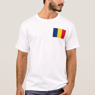 Chad Flag and Map T-Shirt