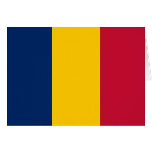 Chad Flag Card