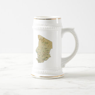 Chad Flag ~ Map Mug