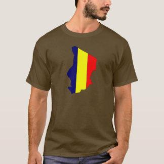 Chad flag map T-Shirt