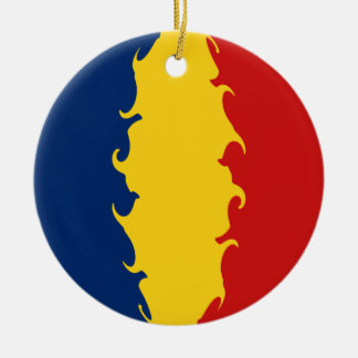 Chad Gnarly Flag Ornament