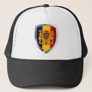 Chad Mettalic Emblem Trucker Hat