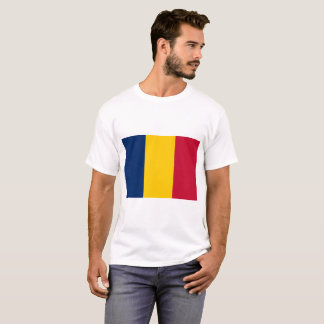 Chad National World Flag T-Shirt