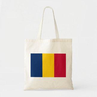 Chad National World Flag Tote Bag