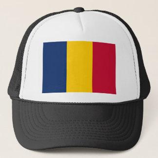 Chad National World Flag Trucker Hat