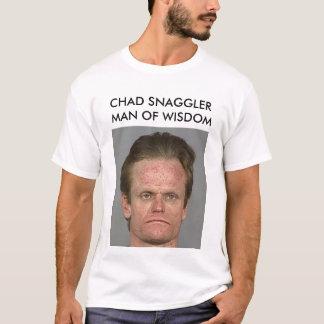 CHAD SNAGGLER MAN OF WISDOM T-Shirt