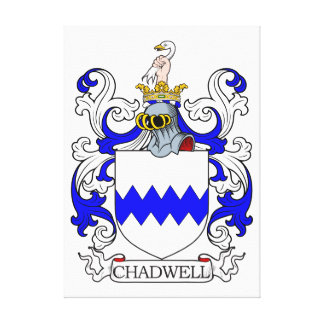 Chadwell Coat of Arms I Stretched Canvas Print