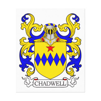 Chadwell Coat of Arms II Gallery Wrapped Canvas