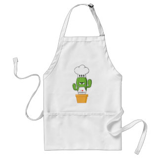 Chadwick the Cantankerous Cactus Standard Apron