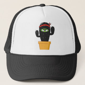 Chadwick the Cantankerous Cactus Trucker Hat
