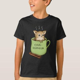 Chai-huahua Chihuahua Chai Tea Design T-Shirt
