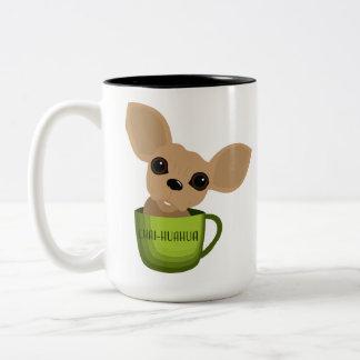 Chai-huahua Two-Tone Coffee Mug