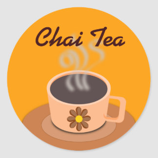 Chai Tea stickers