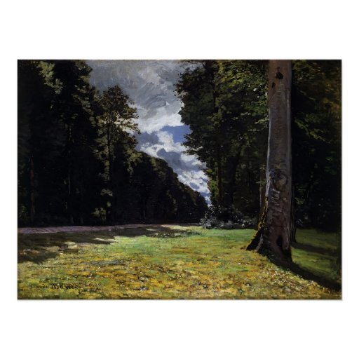 Chailly in the Forest of Fontainebleau (1865) 1 Posters