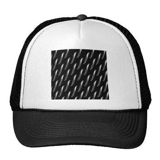 chain background trucker hats