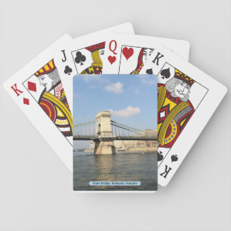 Chain Bridge, Budapest, Hungary Playing Cards