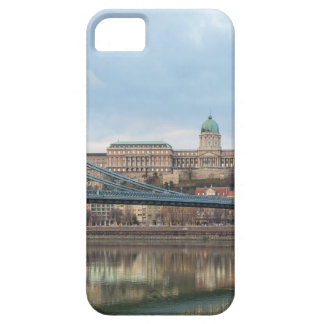 Chain Bridge with Buda Castle Hungary Budapest iPhone 5 Case
