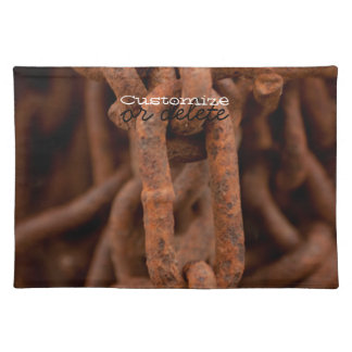 Chain Chain Chain; Customizable Placemat