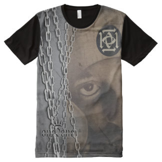 Chain Gang Abstract 101 All-Over Print T-Shirt
