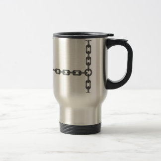 chain letter travel mug