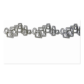 Chain Link - Abstract Art Business Cards