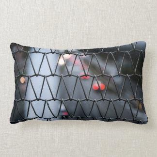 Chain Link Fence Lumbar Cushion