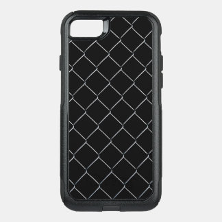 Chain Link Fence Pattern OtterBox Commuter iPhone 8/7 Case