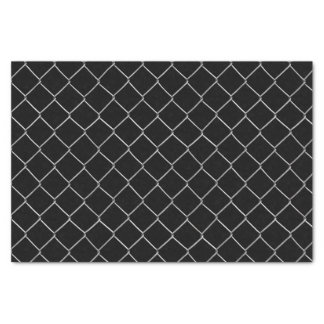 Chain Link Pattern Choose Background Color Tissue Paper