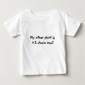 Chain mail baby baby T-Shirt